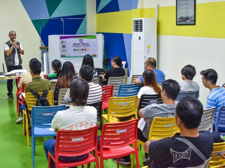 DICT holds Digital Jobs PH technical training in Dagupan