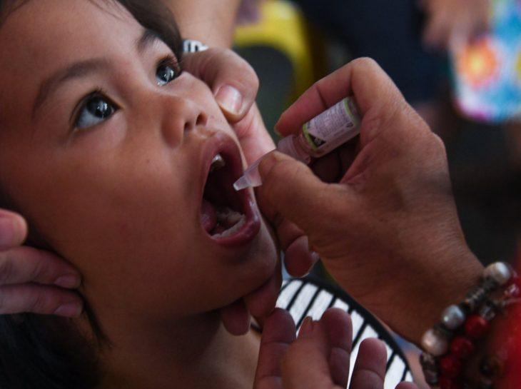 City gov't, Rotary Clubs mark World Polio Day; 183 children get free oral polio vaccine