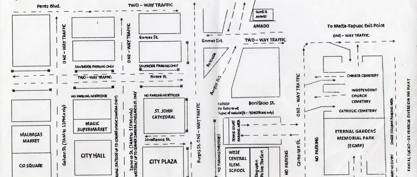 Heads up: Temporary traffic rerouting in Dagupan City on Nov. 1 now out