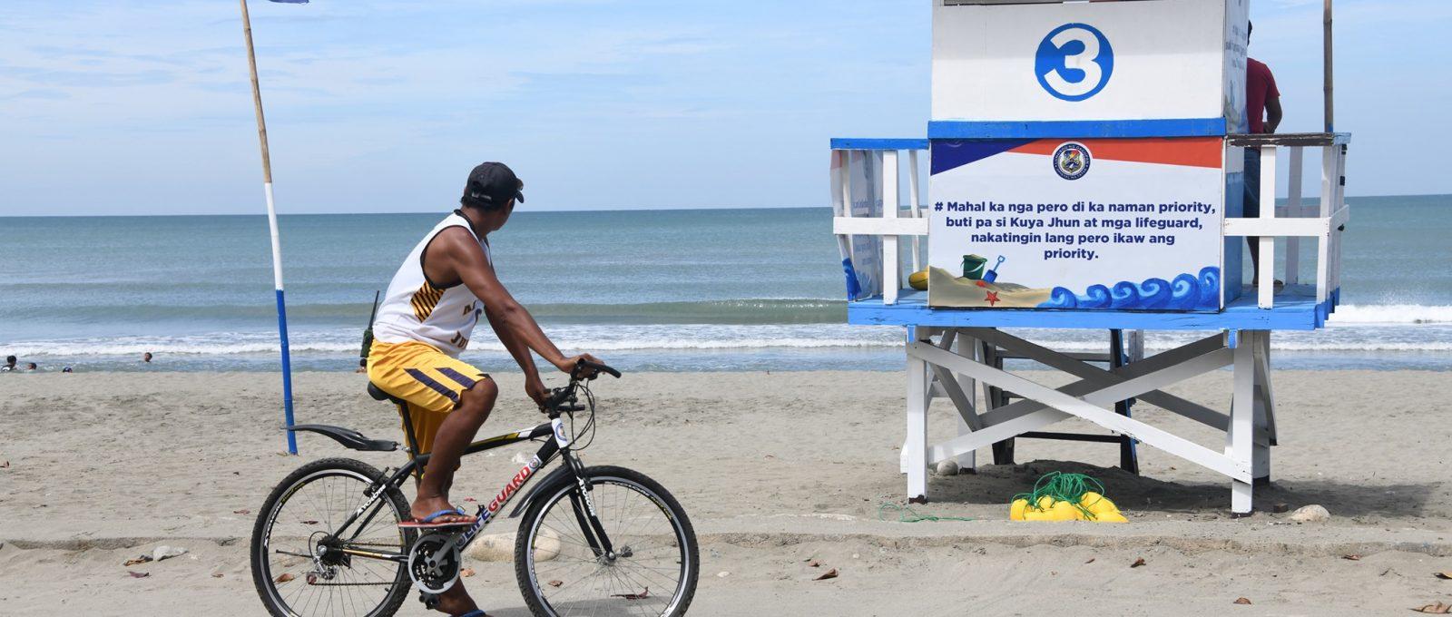 Tondaligan Beach handang-handa na sa pagdagsa ng mga beachgoers ngayong Undas