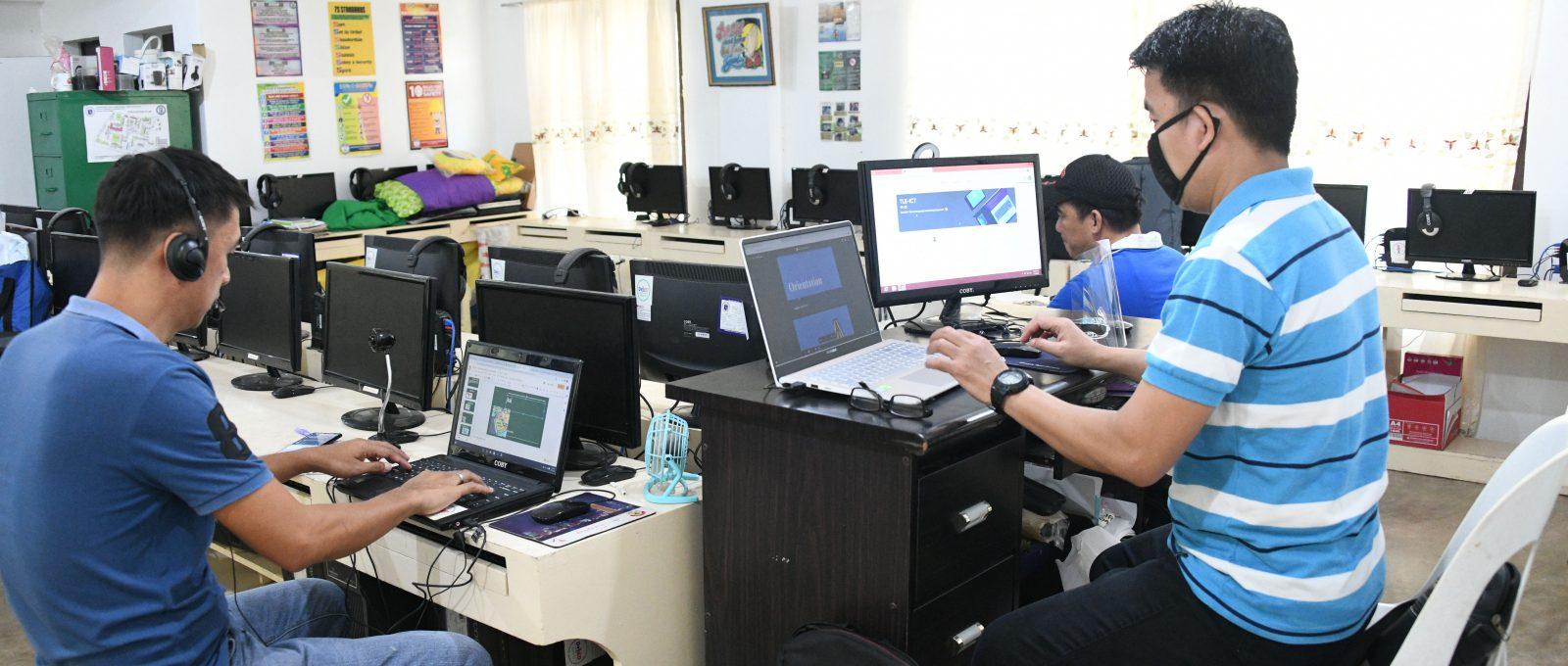 3 Dagupan schools begin simulation of distance learning classes